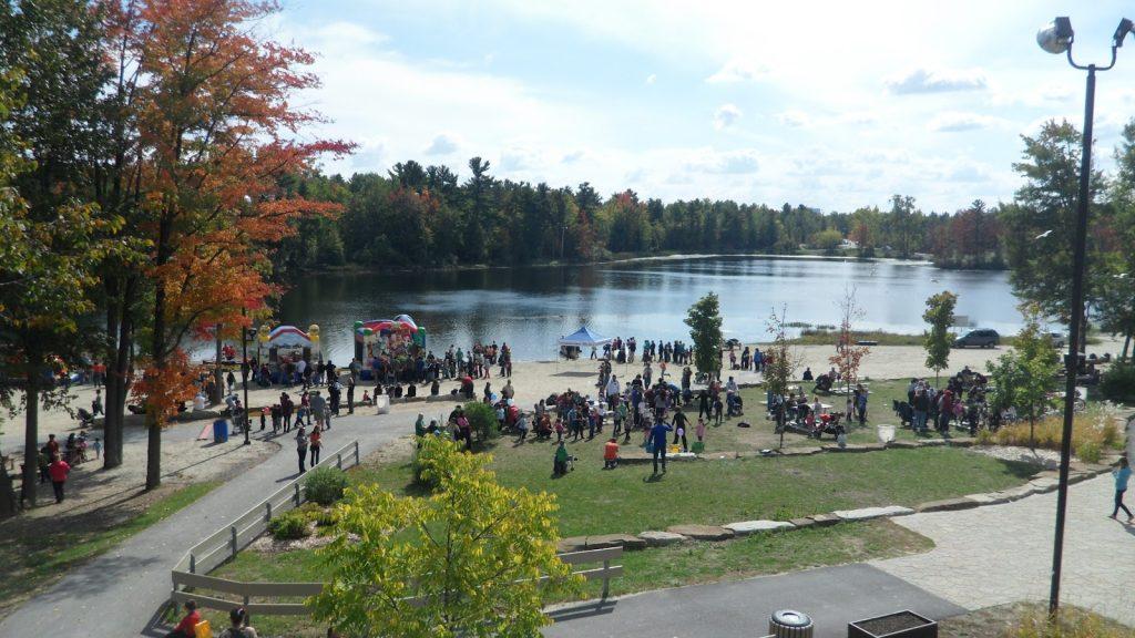 Lac beauchamps Park